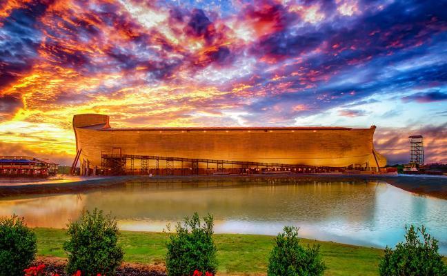 El arca de Noé no aguanta el chaparrón