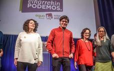 Elkarrekin Podemos no frena su retroceso