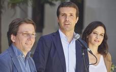 Casado resiste tras sumar el bloque de la derecha en Madrid