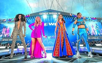 La reaparición menos sonada de las Spice Girls