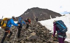 El Mont Blanc se desmorona