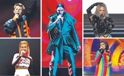 Los que más cantaron en Eurovisión