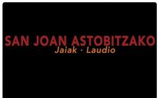 Programa de fiestas de Llodio 2019: San Joan Astobitzako Jaiak