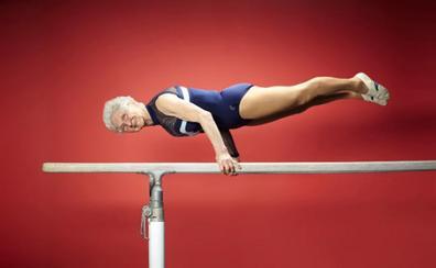 Johanna Quaas, la incombustible gimnasta de 93 años