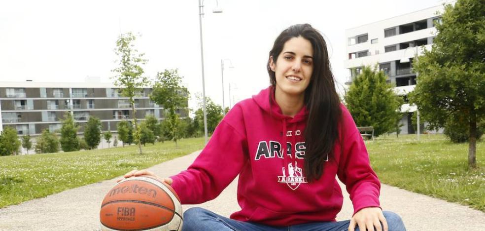 Laura Pardo: «Siempre pretendo sumar para el equipo»