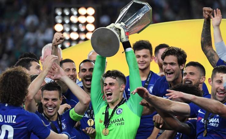 El Chelsea de Kepa se lleva la Europa League