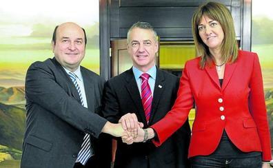 El PNV vincula la reedición del pacto con el PSE a ser socio de Sánchez y al futuro de Navarra