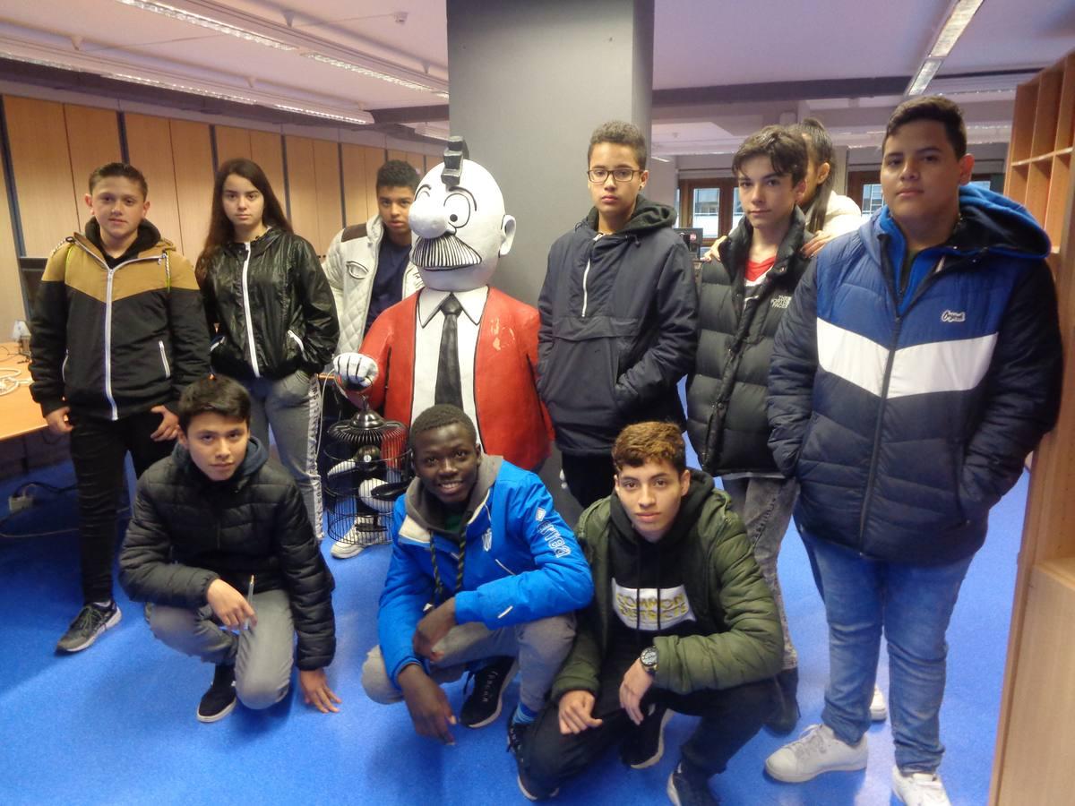 Visita centro escolar Samaniego (Vitoria-Gasteiz) - 24 de mayo de 2019