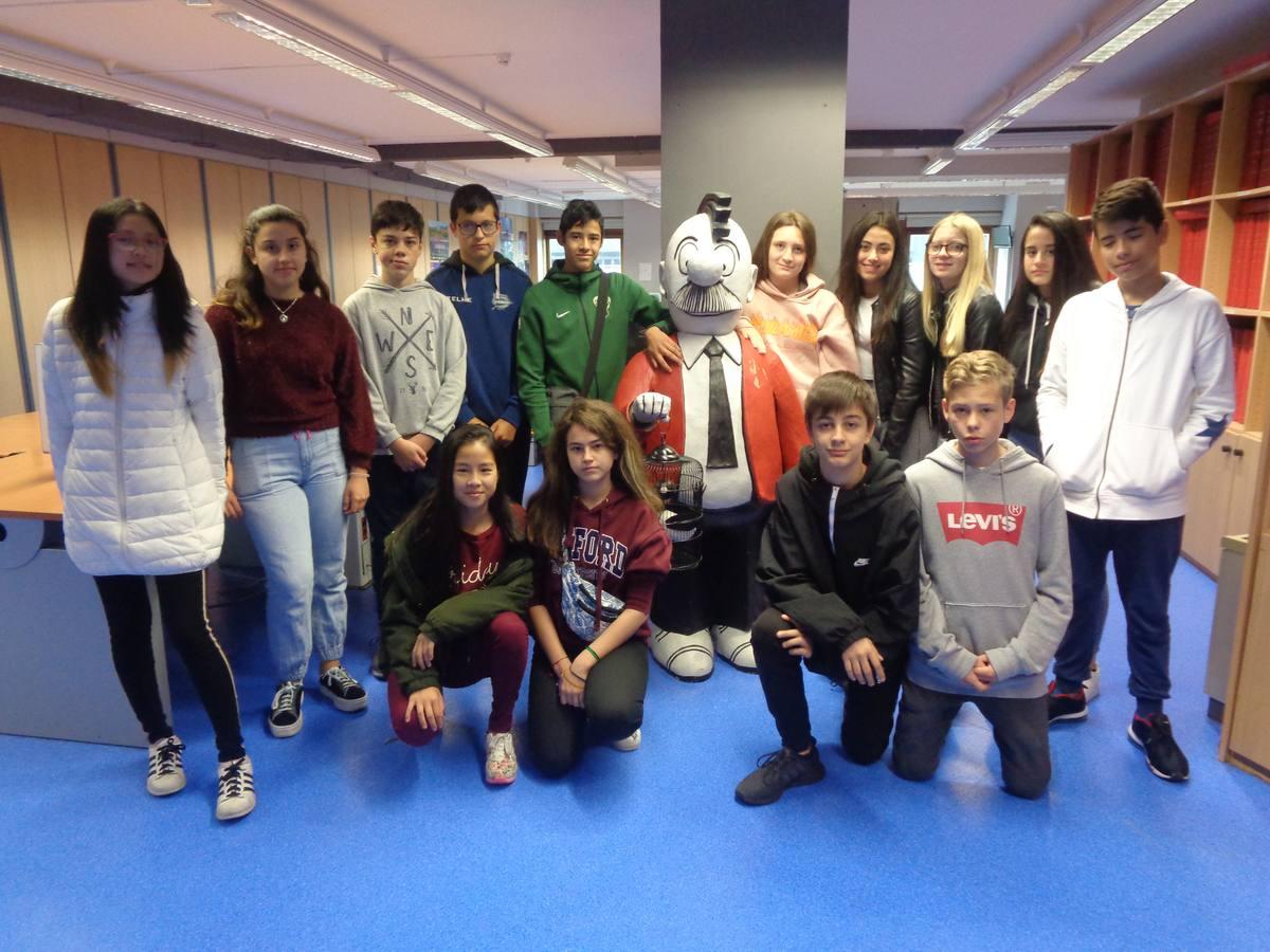 Visita centro escolar San Prudencio (Vitoria-Gasteiz) - 23 de mayo de 2019