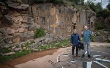 Abren una ruta artística en la cantera de Ereño