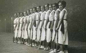 Las raquetistas que vivían como actrices de Hollywood