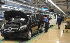 Mercedes invertirá 31 millones de euros en Vitoria para el montaje de la Clase V eléctrica