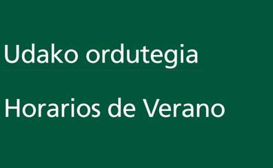 Horarios Bizkaibus verano 2019