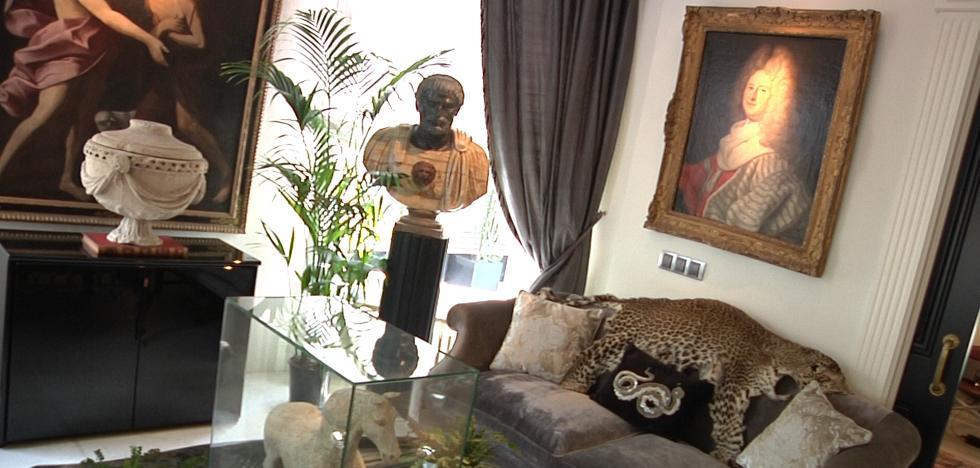Arte, moda y diseño, así es la casa de Javier de Juana en Neguri