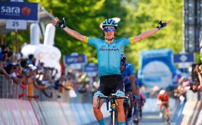 Pello Bilbao bate a Landa en el Giro que ya es de Carapaz