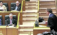 Urkullu y Alonso reconducen su relación en el Parlamento con el Presupuesto en el horizonte