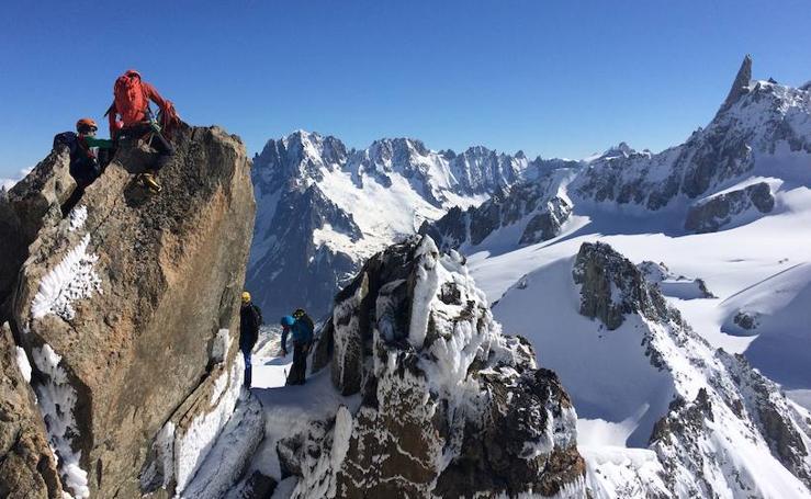 La belleza del Mont Blanc