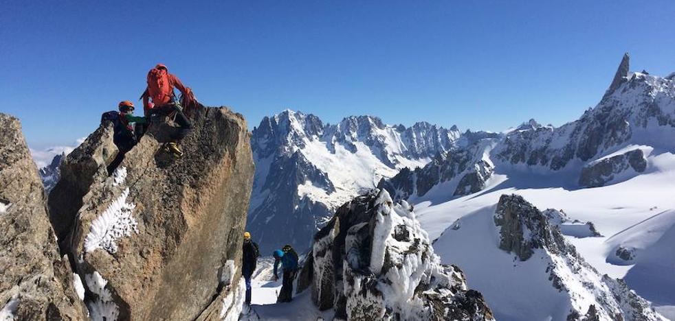 El mirador de montañas más estimulante a la sombra del Mont Blanc