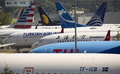 Boeing admite defectos en las alas de más de 300 aviones 737 MAX