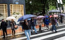 Euskadi se despide del buen tiempo