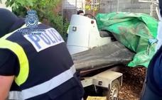 La Policía interviene casi 6 toneladas de hachís en el Campo de Gibraltar