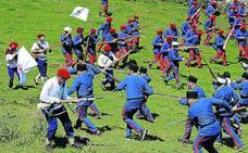 Santurtzi revive la batalla del Pequeño Serantes