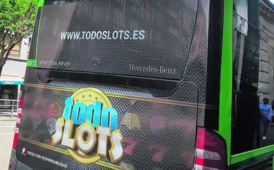 La Diputación retira de Bizkaibus la campaña de un casino 'online'