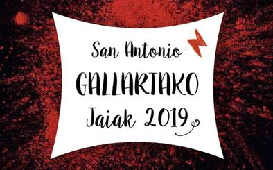 Programa de fiestas de Gallarta 2019: San Antonio Jaiak