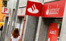 Santander rebaja en 249 los afectados del ERE y mejora las condiciones económicas