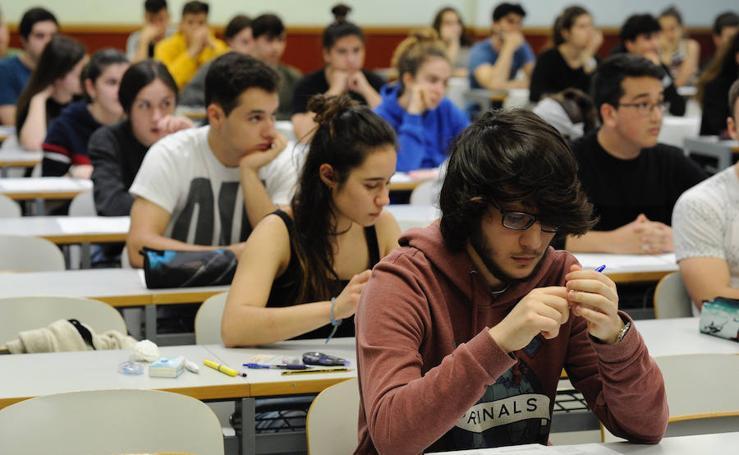 Comienza la Selectividad para 11.500 alumnos vascos