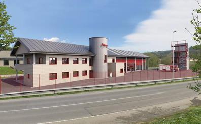 La licencia de obras ultima los permisos para el nuevo parque de bomberos de Zalla