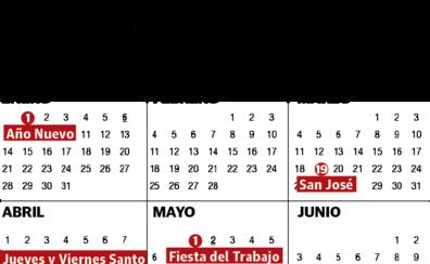 Calendario Laboral 2020 Sevilla.Calendario Laboral El Correo