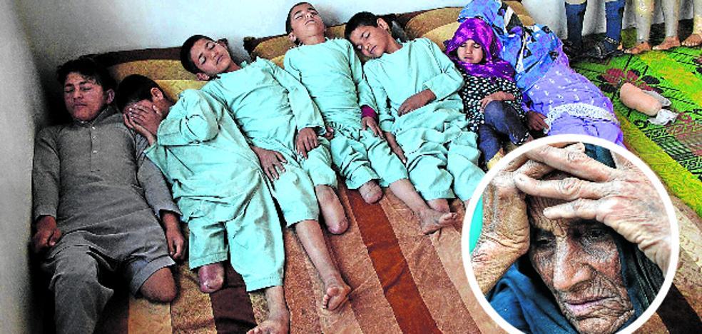 La familia diezmada de Afganistán