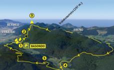 Vuelta al valle cerrado de Oma, los montes de Urdaibai