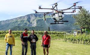 Drones agrícolas de precisión