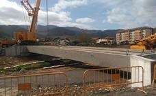 URA licita la obra que rematará el blindaje del centro de Zalla contra las crecidas del río Cadagua