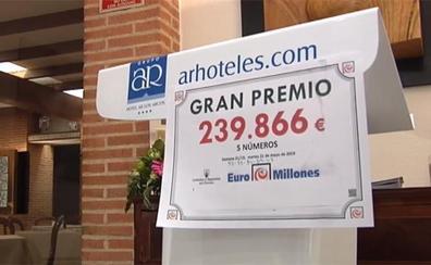 37 trabajadores de un hotel de Segovia reinvierten un bote de cinco euros y les toca el Euromillones
