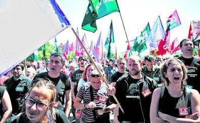 Los sindicatos vuelven a exigir al metal de Bizkaia que asuma sus peticiones
