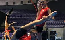 Las alavesas Gorospe y Solaun, al mundial de gimnasia rítmica