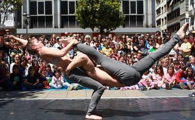 Equilibrio, fuerza y ritmo con Sara Álvarez y Ortzi Acosta