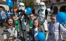 La legión 501 de Star Wars ayuda a recoger alimentos en Usansolo