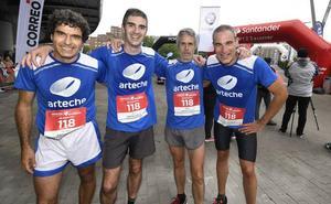 «Correr con la misma camiseta hace equipo»