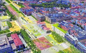 La 'isla' peatonal del centro de Vitoria se extenderá a una decena de calles con el soterramiento