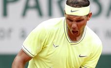 Las doce copas de Nadal en Roland Garros