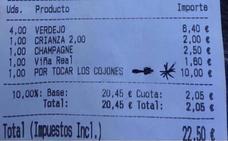 ¡Cómo se las gastan en Bermeo! 10 euros de más en una consumición, «por tocar los cojones»