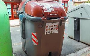 La Mancomunidad solicita que no se depositen productos impropios en el contenedor marrón