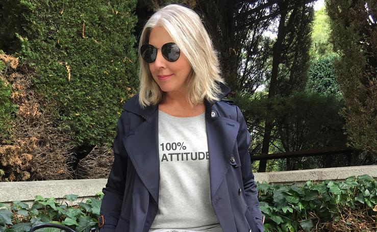 La diseñadora bilbaína empeñada en dinamitar el poder de los logos de la moda