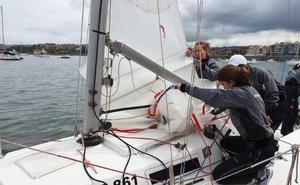 Una tripulación exclusivamente femenina participará en el Mundial de clase J80
