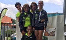 La veterana Sonia Oceja, mejor lanzadora en el critérium de Durango