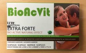 Retiran Bioactiv, Devit Forte y otros medicamentos no autorizados vendidos como potenciadores sexuales de Marco Cordone Spain